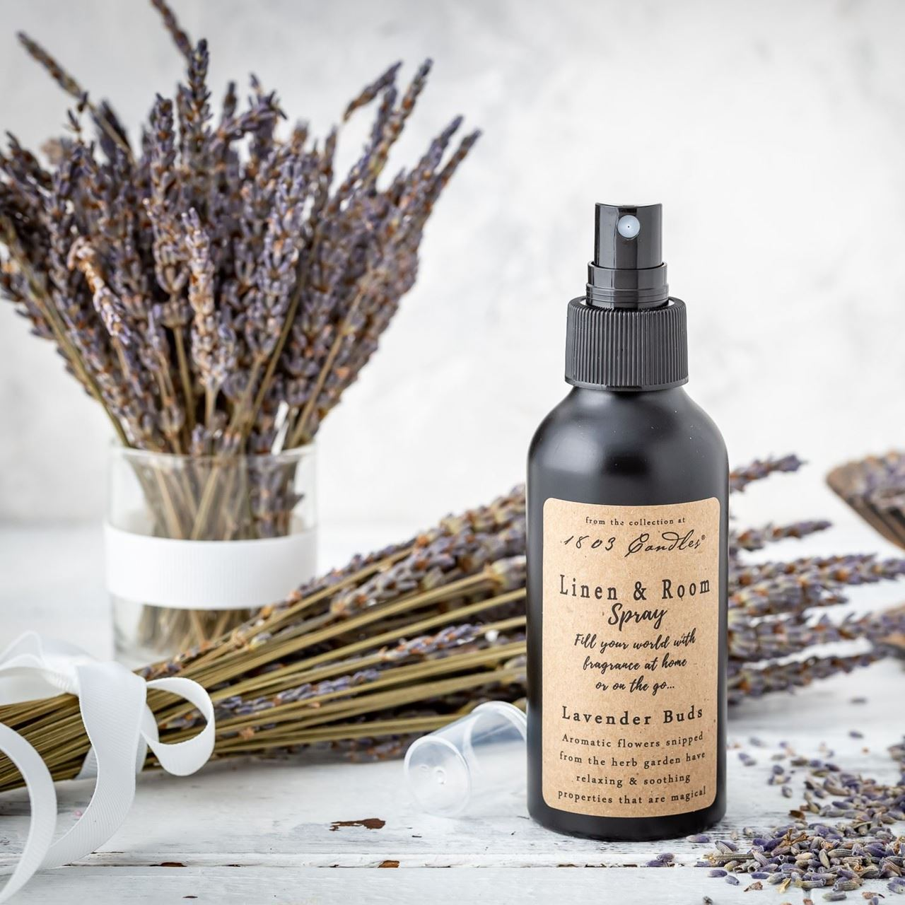 Lavender Buds Linen & Room Spray by 1803 Candles
