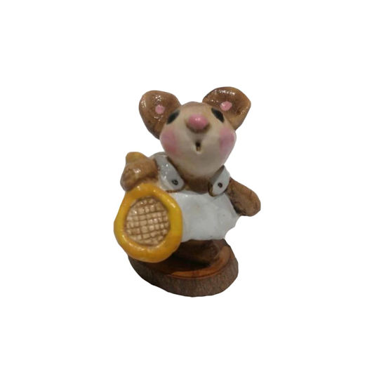 Tennis Star Mouse MS-05 Blue by Wee Forest Folk®