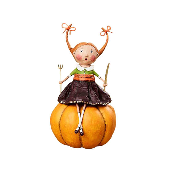 Prissy Pumpkin Eater by Lori Mitchell