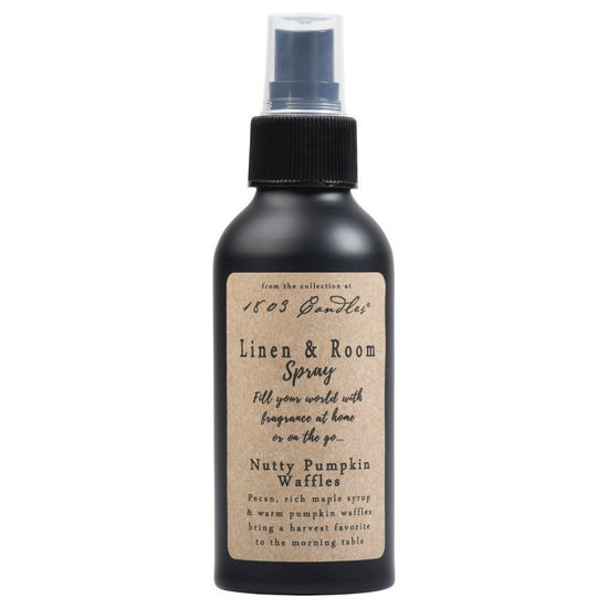 Nutty Pumpkin Waffles Linen & Room Spray by 1803 Candles