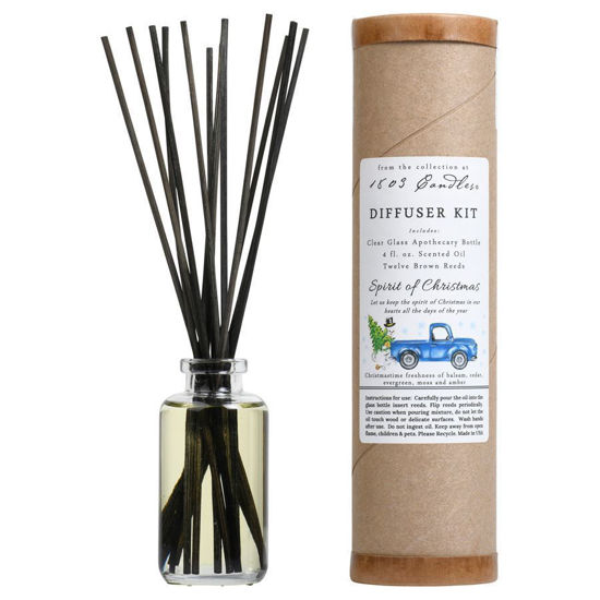 Spirit of Christmas Diffuser Kit  by 1803 Candles