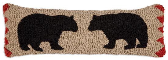 Two Black Bears on Beige by Chandler 4 Corners