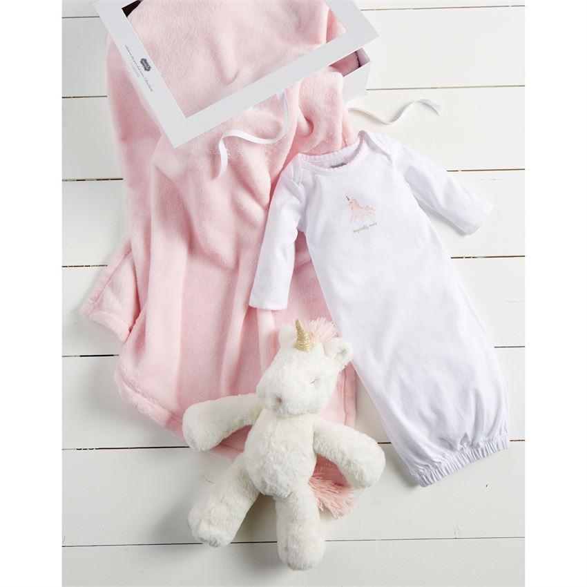 Unicorn Plush Pal Gift Set by Mudpie