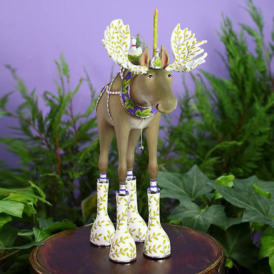 Milton Moose by Patience Brewster