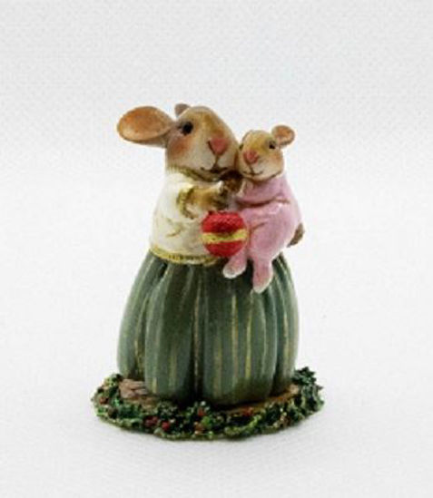 Baby Bunny's First Christmas B-21 Pink By Wee Forest Folk®