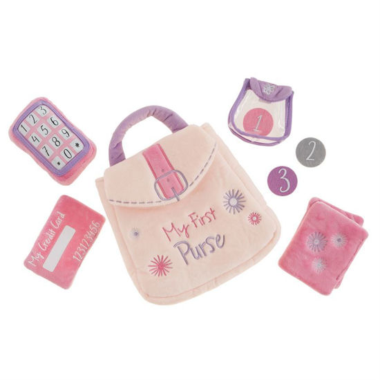 My First Purse Plush Set by Mudpie