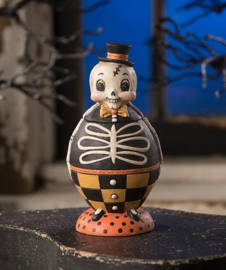 Silly Bones Spooks Jar by Bethany Lowe Designs