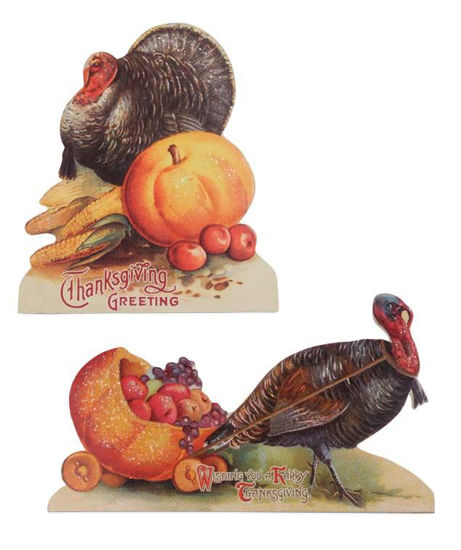 Thanksgiving Turkey Dummy Boards by Bethany Lowe Designs