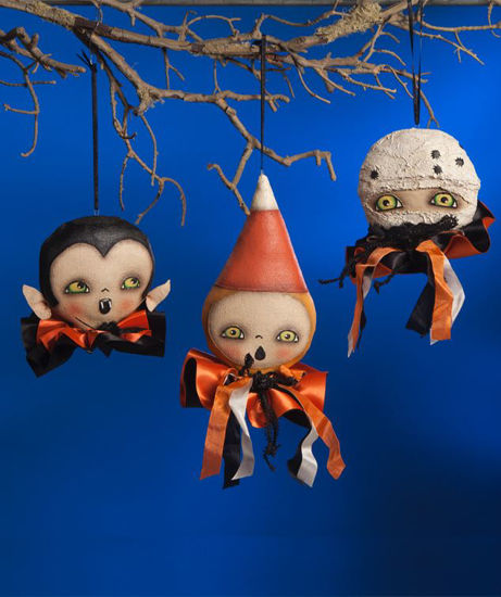 Ghoulish Halloween Ornament by Bethany Lowe