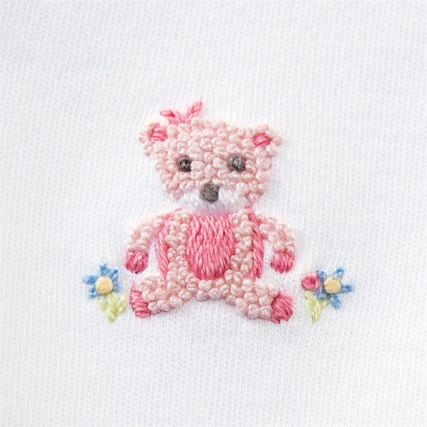 Pink Bear 2-Piece Set (3-6M) by Mudpie