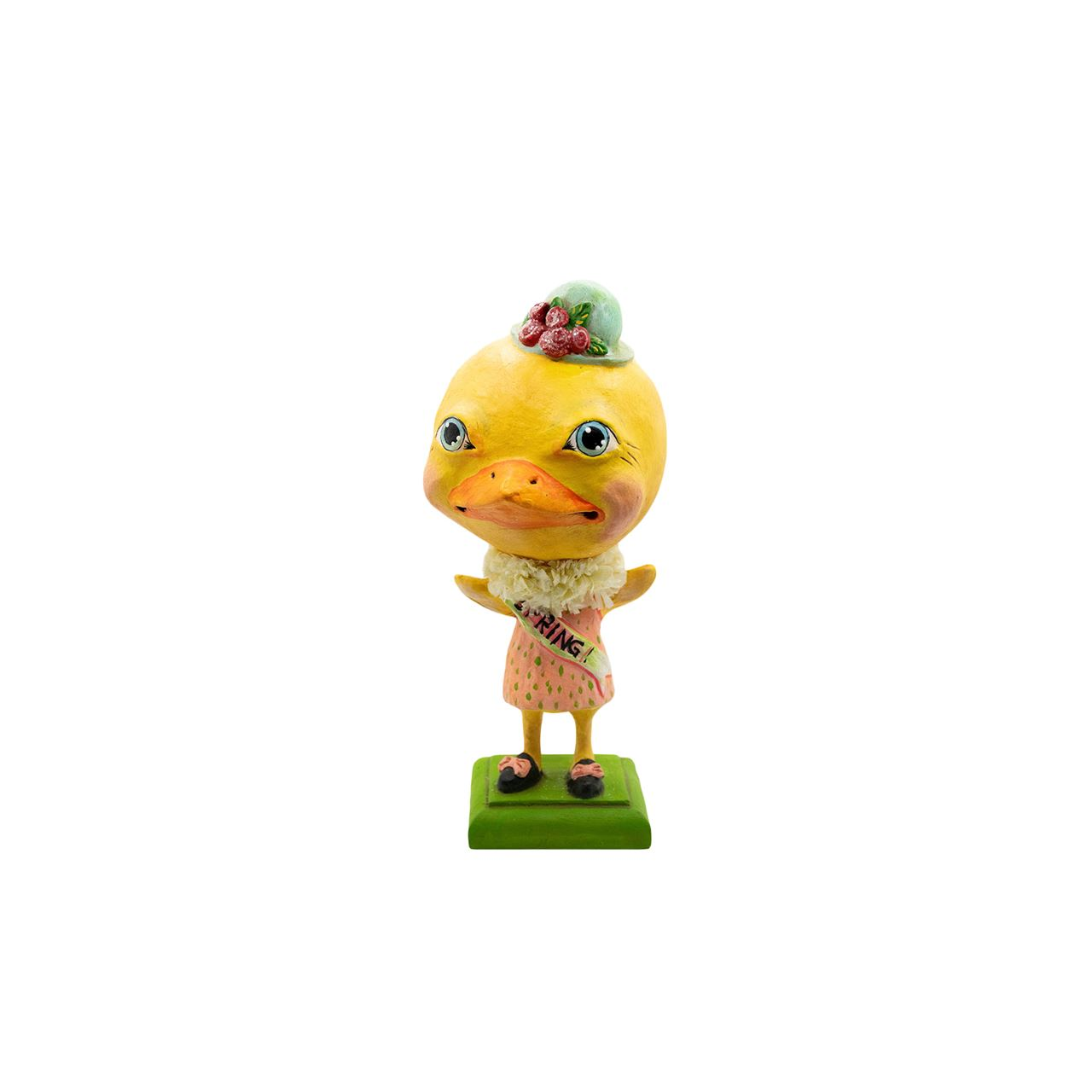 Big Headed Spring Chickie by Bethany Lowe Designs