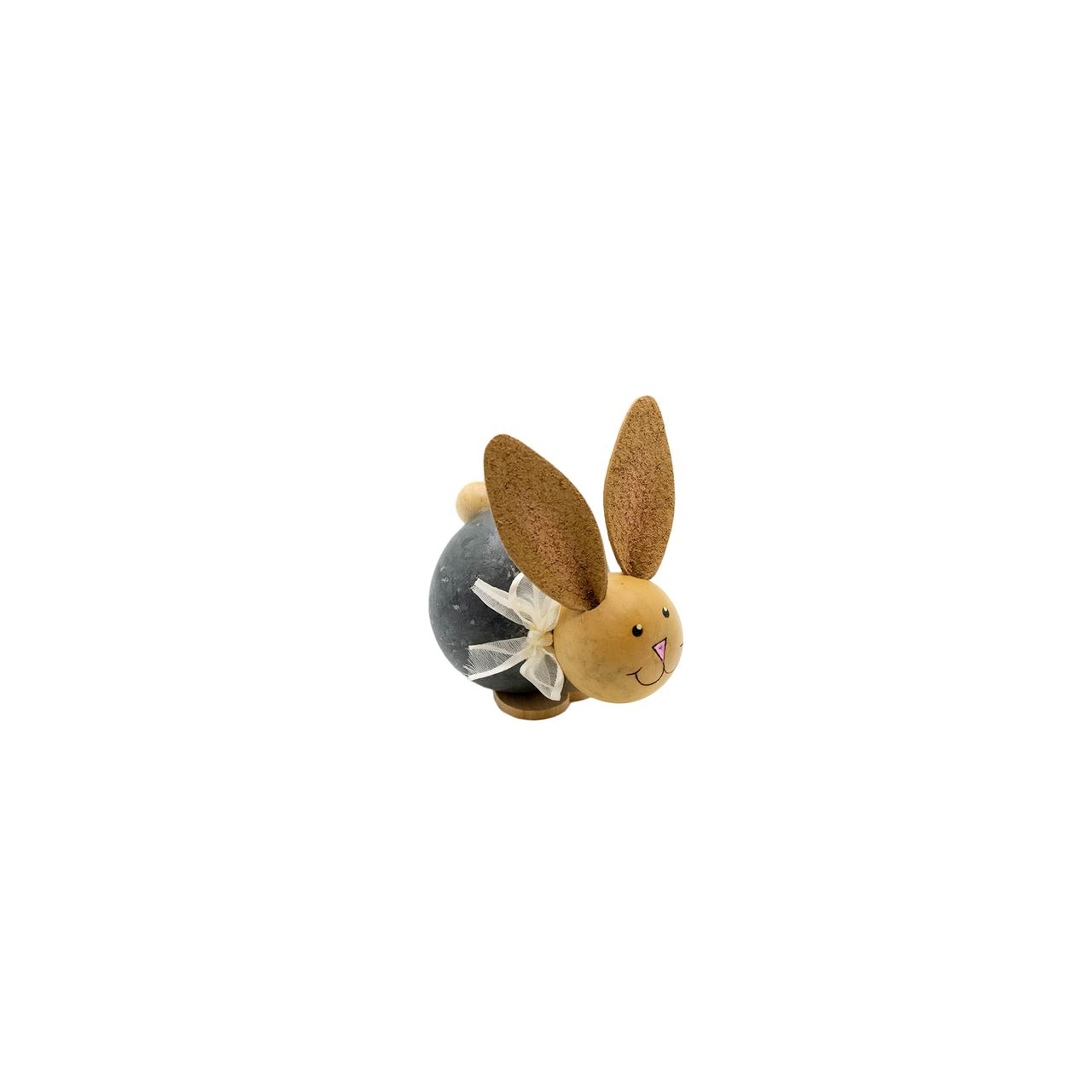Carter - Tiny Laying Down Bunny by Meadowbrooke Gourds
