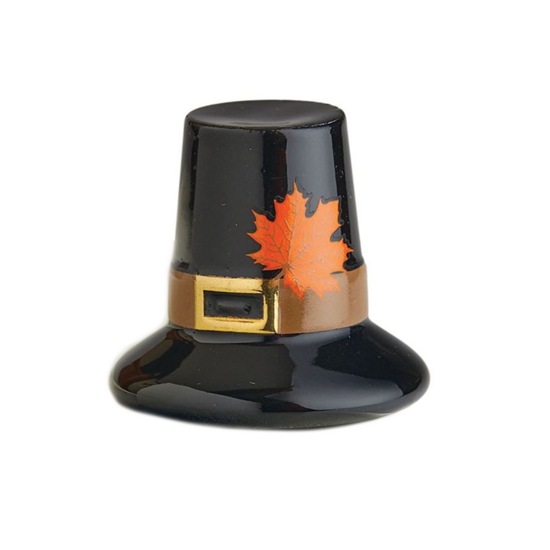 We Gather Together (Pilgrim Hat) Mini by Nora Fleming