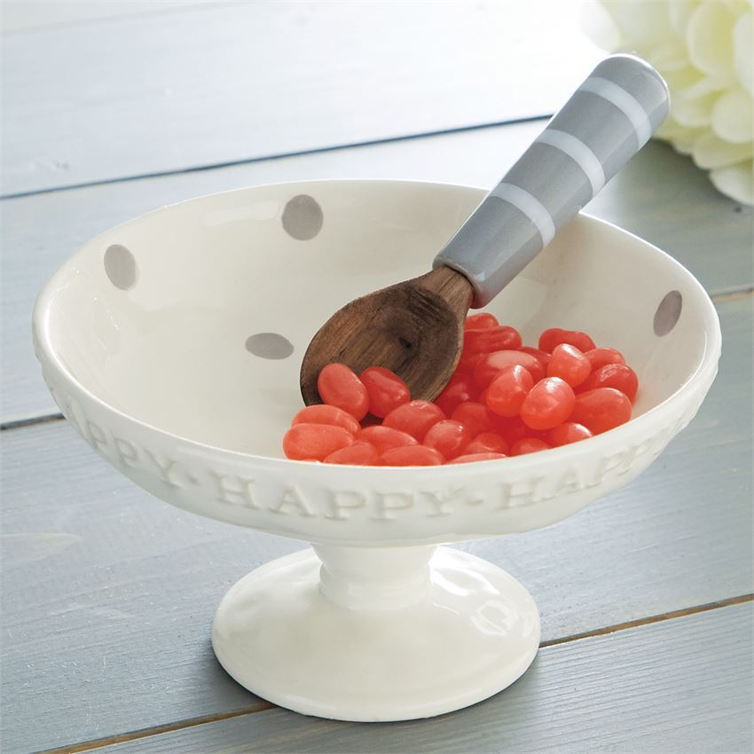 Happy Candy Dish Set by Mudpie