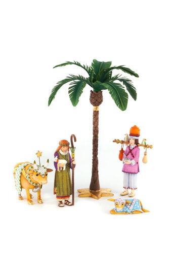 Mini Nativity Shepherd Set Figure by Patience Brewster