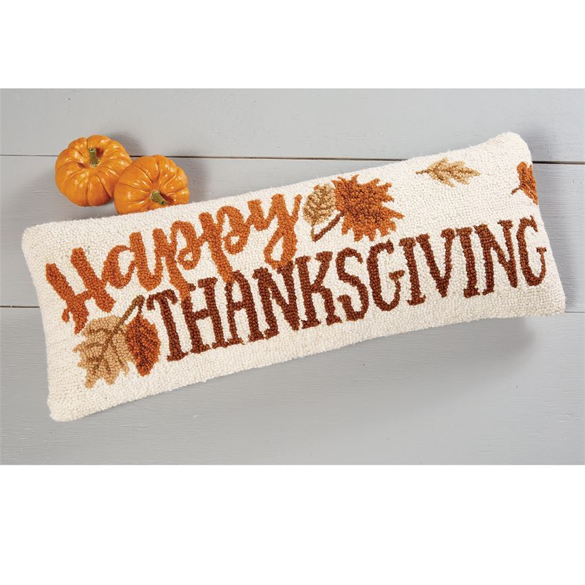 Happy Thanksgiving Pillow by Mudpie