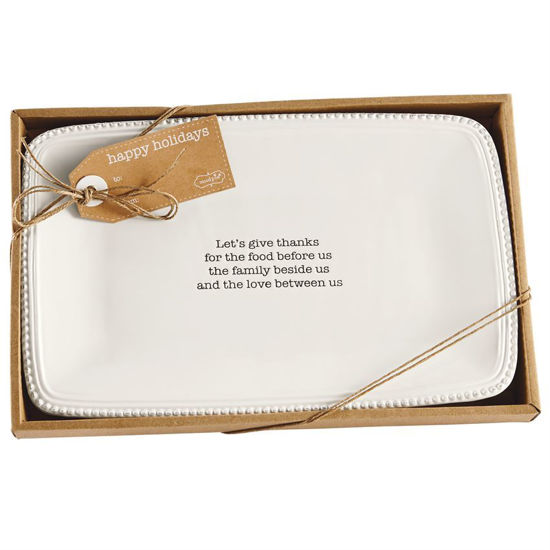 Boxed Sentiment Platter by Mudpie