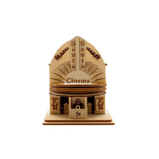 Santa Cinema Ornament by Ginger Cottages