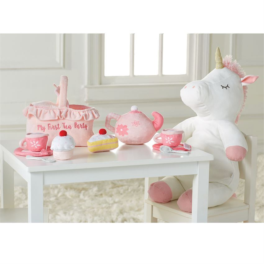 My First Tea Party Plush Set by Mudpie