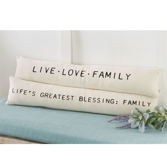 Family Long Pillows by Mudpie