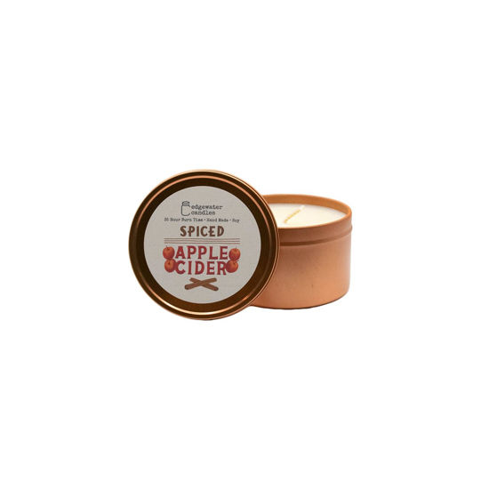 Spiced Apple Cider Travel Tin by Edgewater Candles