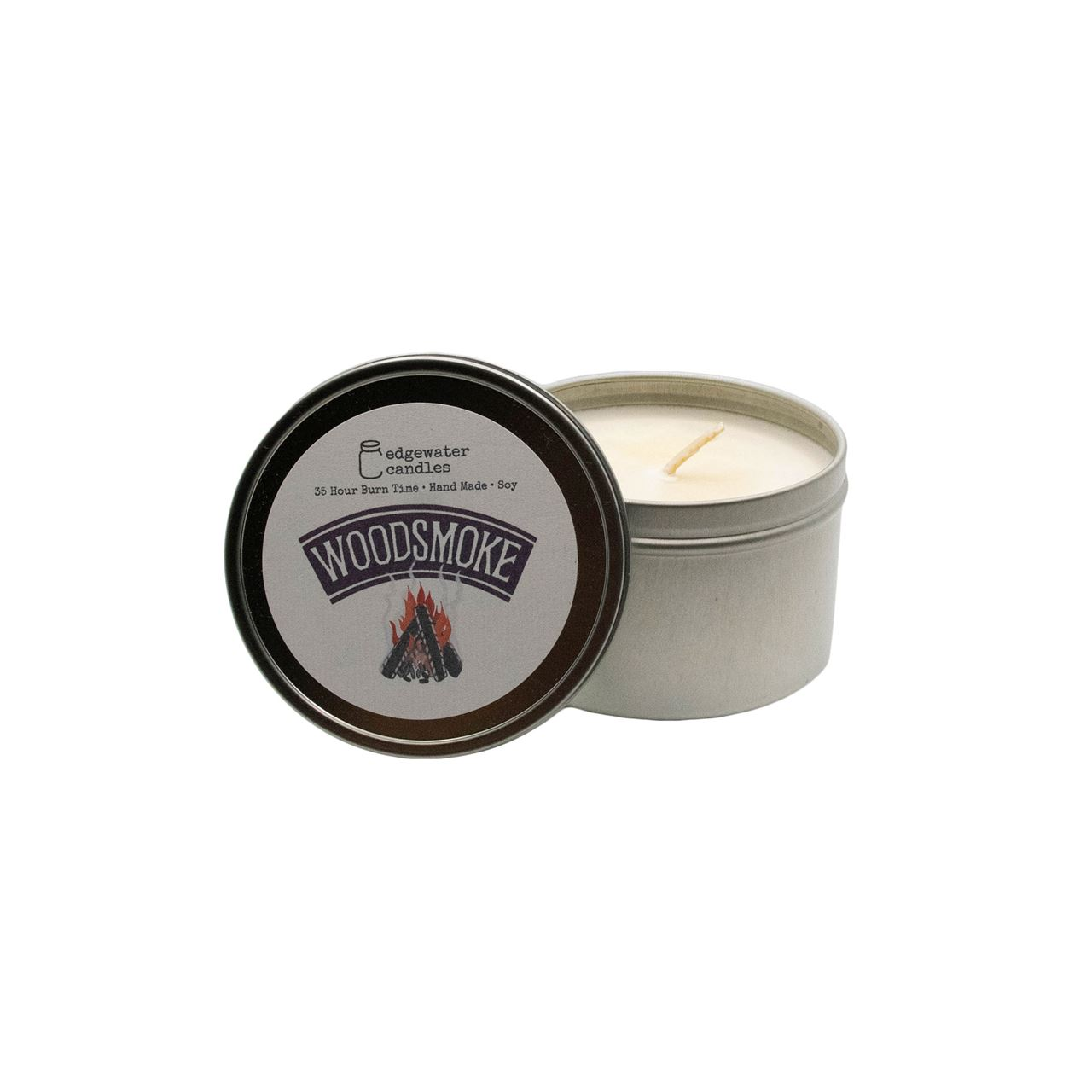 Woodsmoke Travel Tin by Edgewater Candles