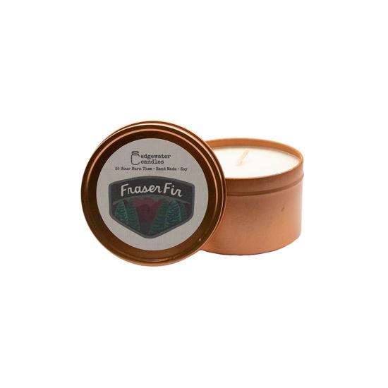 Fraser Fir Travel Tin by Edgewater Candles