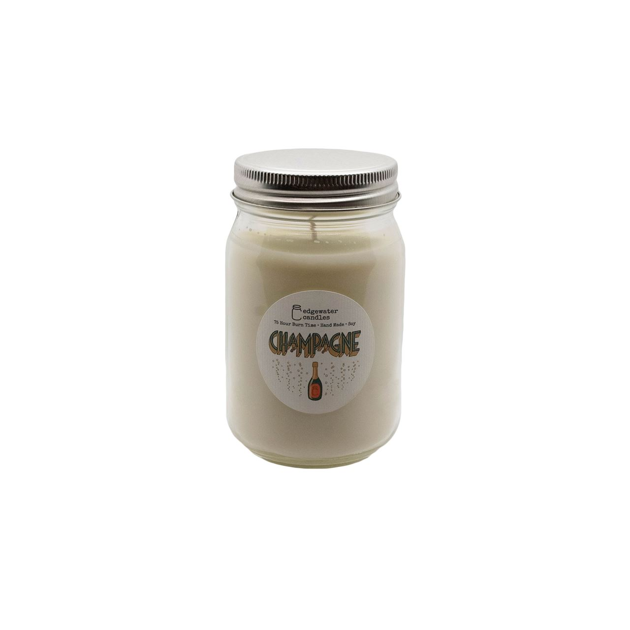 Champagne Jar by Edgewater Candles