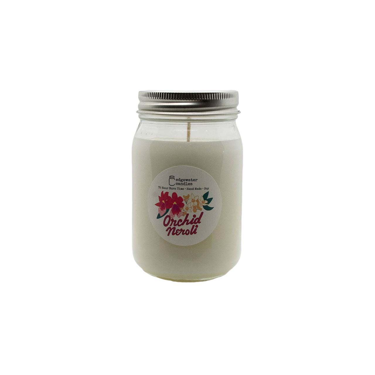 Orchid Neroli Jar by Edgewater Candles