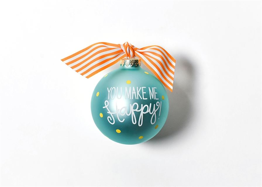You Are My Sunshine Glass Ornament by Coton Colors