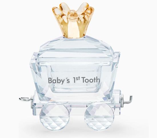 Baby's 1st Tooth Wagon by Swarovski