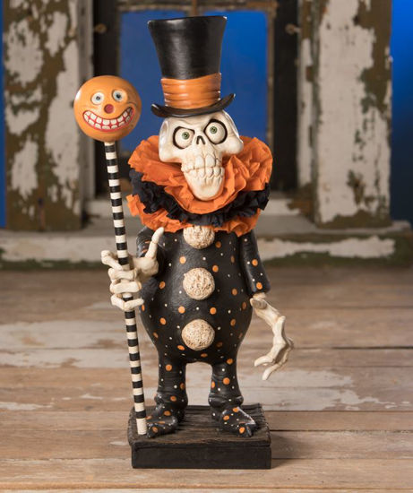 Clowning Around Skelly by Bethany Lowe Designs