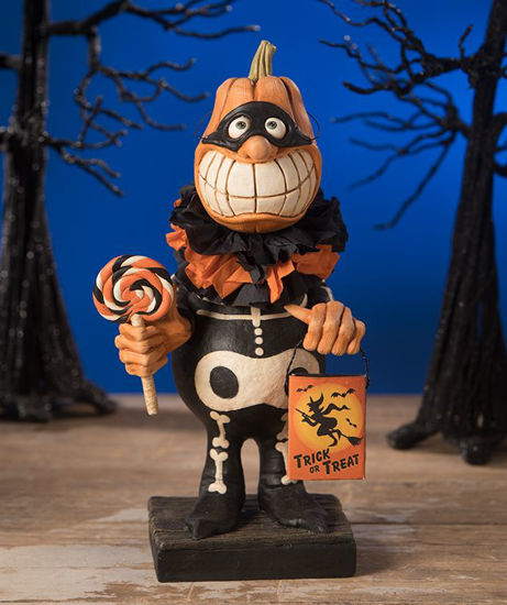 Trick or Treat Pumpkinhead by Bethany Lowe Designs