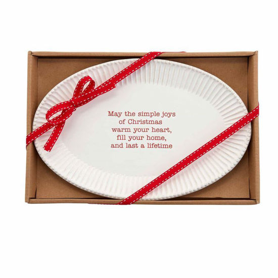 Christmas Sentiment Tray by Mudpie
