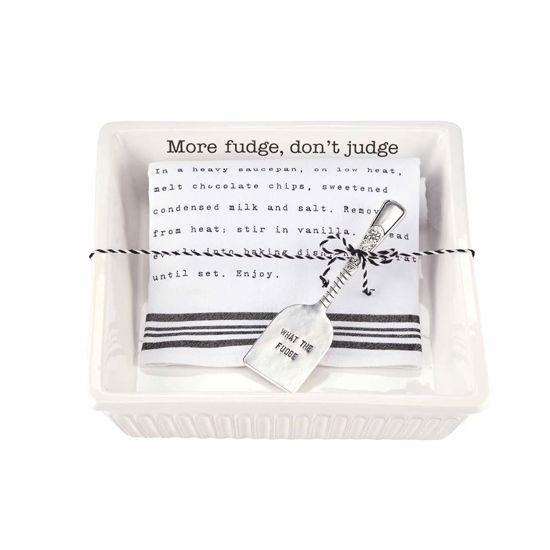 Fudge Baker with Towel Set by Mudpie