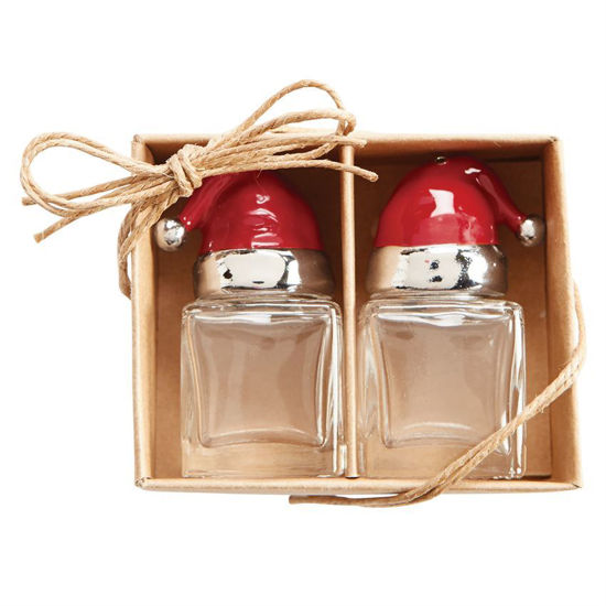 Santa Salt & Pepper Set by Mudpie