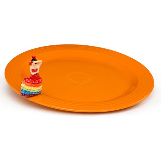 Fiesta Round Platter & Mini Set by Nora Fleming