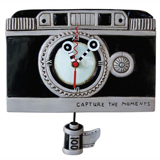 Vintage Camera Clock by Allen Designs Studio