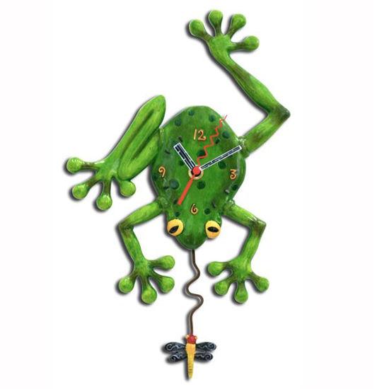 Frog Fly Clock by Allen Designs Studio