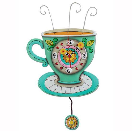 Sunny Cup Clock by Allen Designs Studio