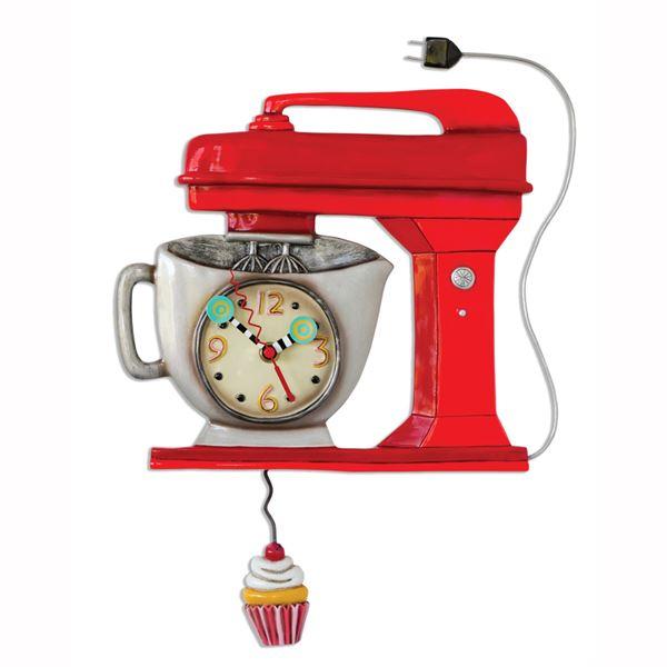 Vintage Mixer Clock by Allen Designs Studio