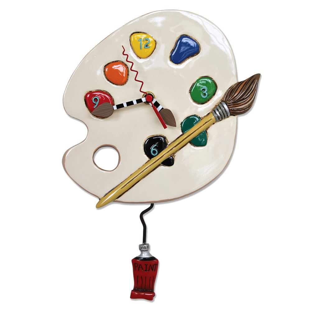 Art Time Pendulum Clock by Allen Designs Studio