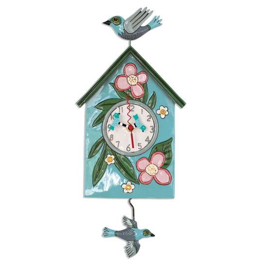 Blessed Nest Pendulum Clock by Allen Designs Studio