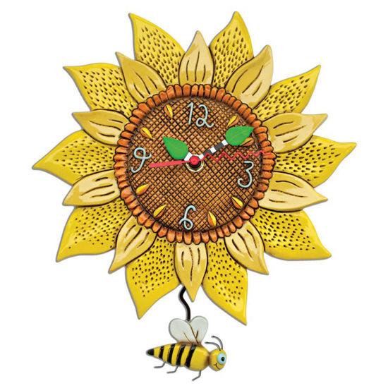 Bee Sunny Pendulum Clock by Allen Designs Studio