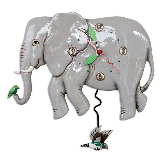 Elephante Pendulum Clock by Allen Designs Studio