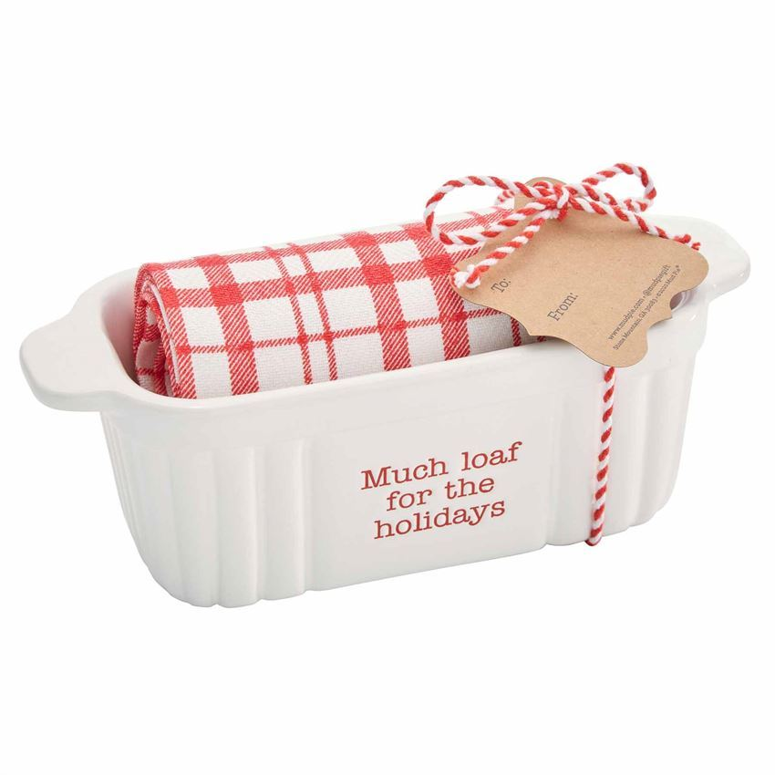 Holiday Mini Baker & Towel Sets by Mudpie