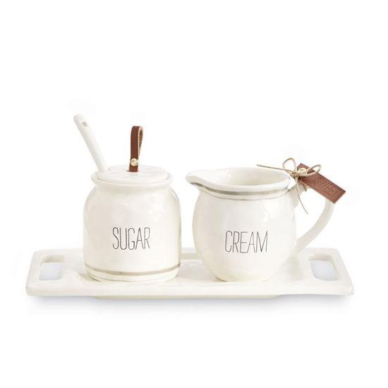 Bistro Cream & Sugar Set by Mudpie