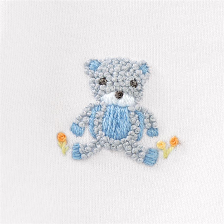 Blue Bear 2-Piece Set (3-6M) by Mudpie