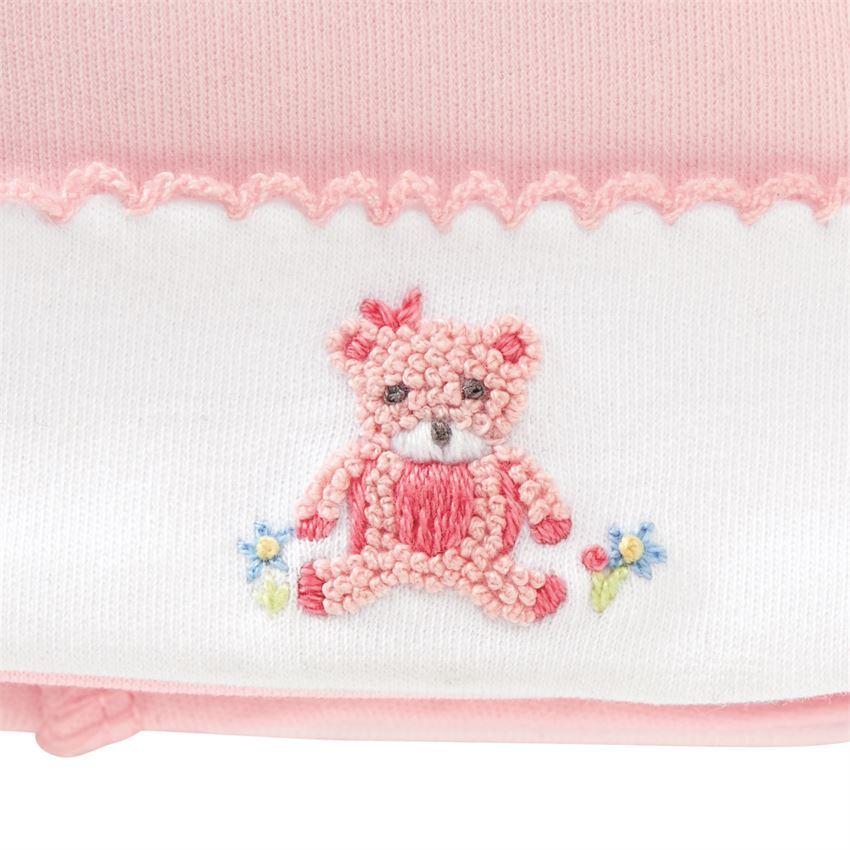 Pink Bear Cap by Mudpie