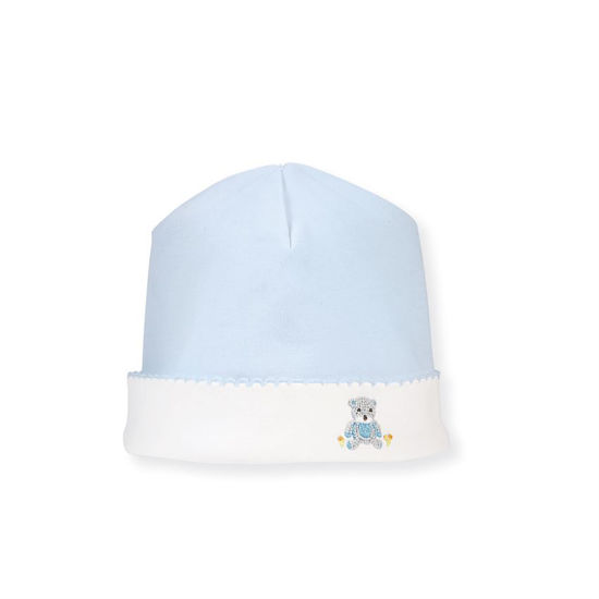 Blue Bear Cap by Mudpie